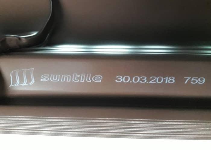 Маркировка металлочерепицы Suntile