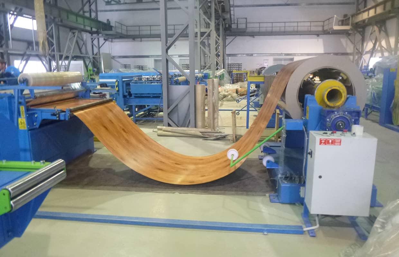 Производство металлосайдинг блок-хаус Бревно
