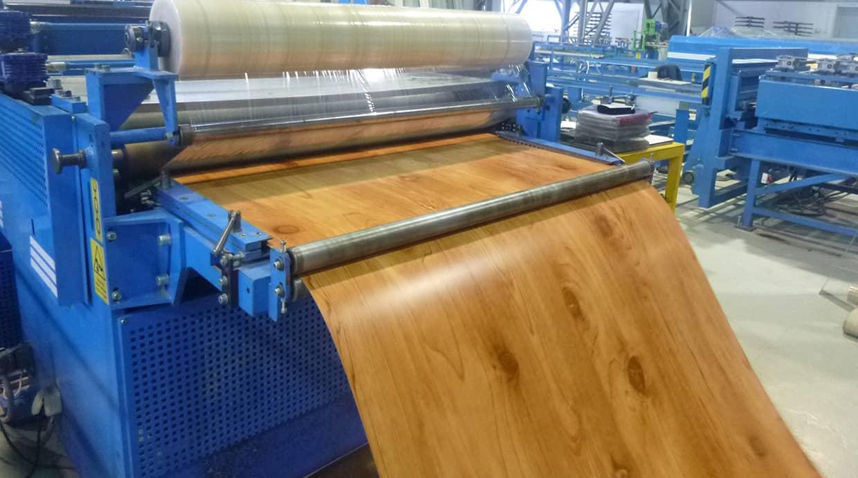 Производство металлосайдинг Доска