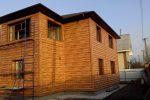 Фасад из Блок-хауса