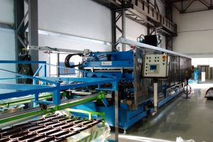 Линия для производства металлочерепицы Сантайл