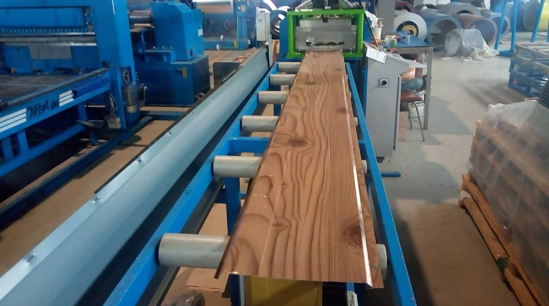 Производство Suntile металлосайдинг Доска