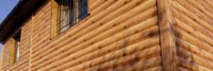 фасад из блок-хаус Бревно