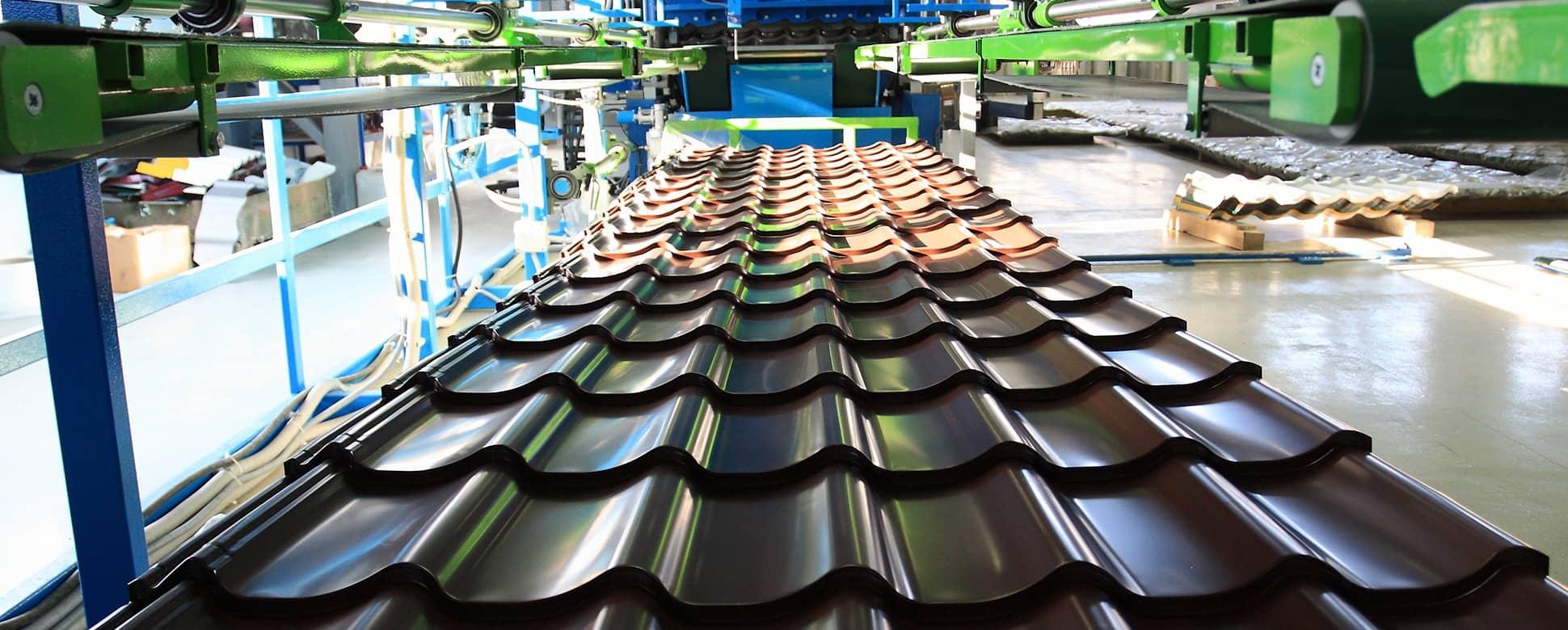 производство металлочерепицы suntile