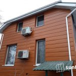 Металевий сайдинг «Дошка» і Блок-хаус «Колода» — ідеальний вибір для тих, хто цінує зовнішній вигляд фасаду з дерева і надійність металу