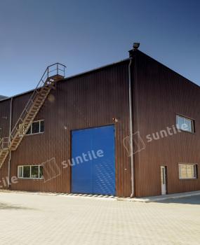 Фасад производственного комплекса